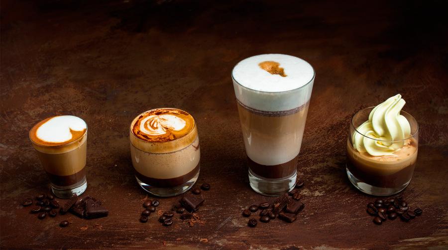 Čokoládová káva so zmrzlinou